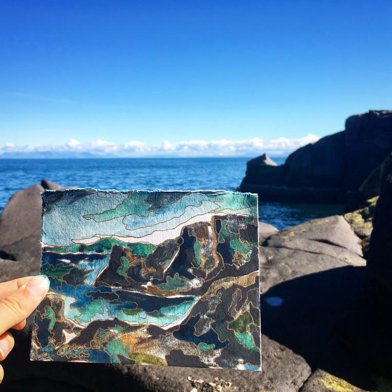 Iceland Basalt - SOLD