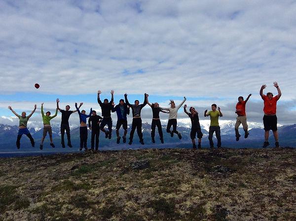 Leading backpacking trips inDenali State Park, Alaska. 2014.