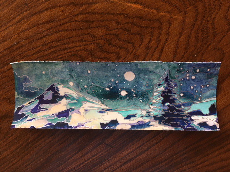 Winter Night - SOLD