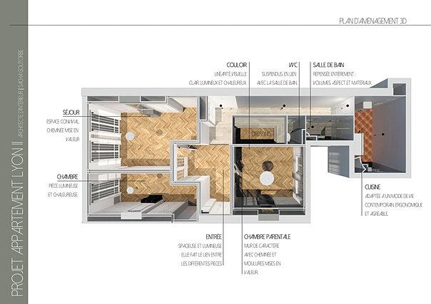 SG. Architecte d\'intérieur | Lyon | Appartement Haussmannien