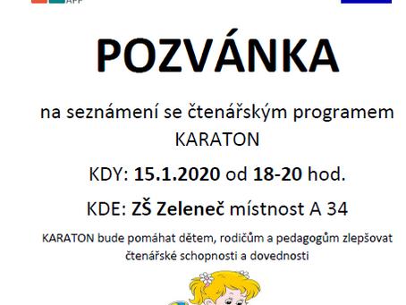 POZVÁNKA na seznámení s programem KARATON