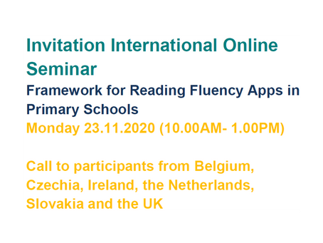 Invitation to an International Online Seminar