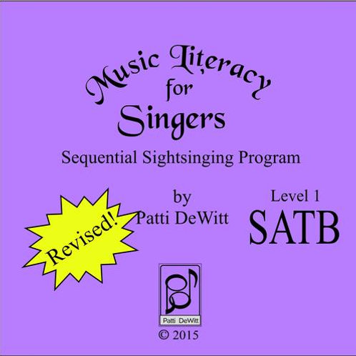 Music Literacy for Singers, Level 1, SATB - Downloadable