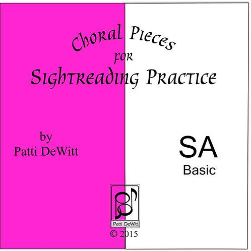 Sightreading Pieces for SA Choir - Downloadable
