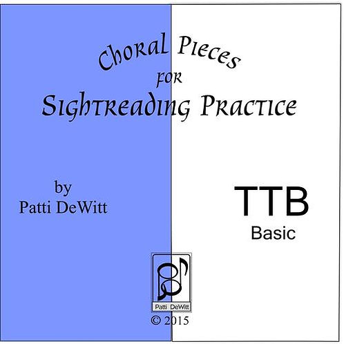 Sightreading Pieces for TTB Choir - downloadable