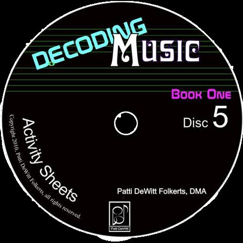 Decoding Music, Book I, Sounded CD Rom Set