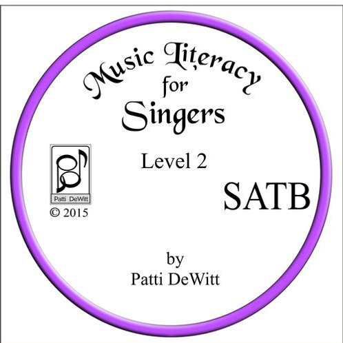 Music Literacy for Singers, Level 2, SATB - downloadable