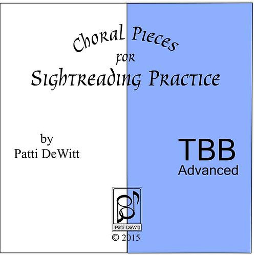 Sightreading Pieces for Advanced TBB Choir - downloadable