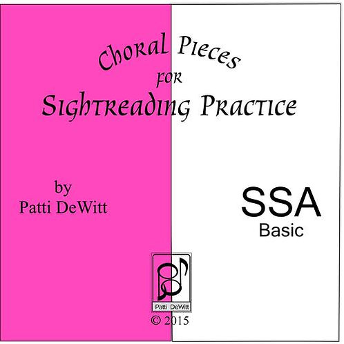 Sightreading Pieces for SSA Choir - Downloadable