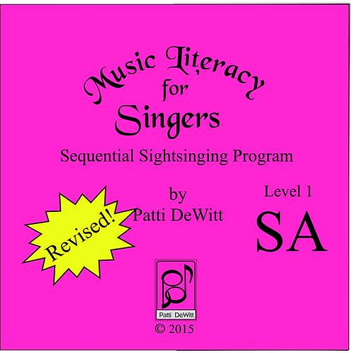 Music Literacy for Singers, Level 1, SA - Downloadable