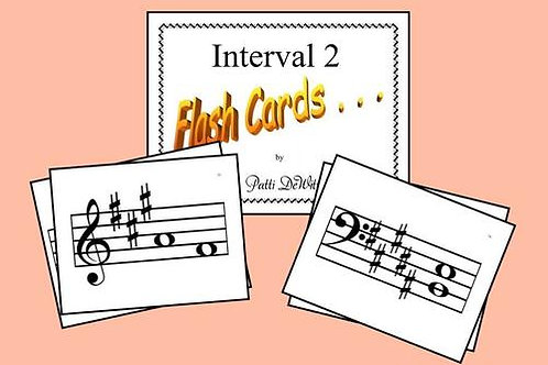 Interval Flashcards Set 2