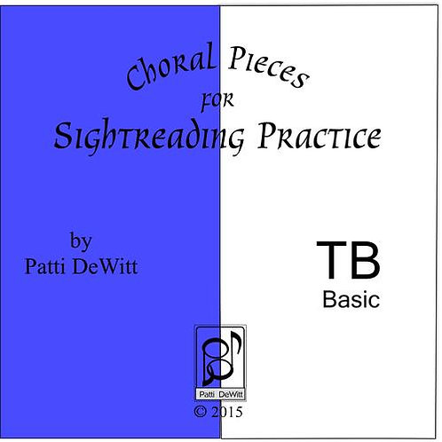 Sightreading Pieces for TB Choir - downloadable