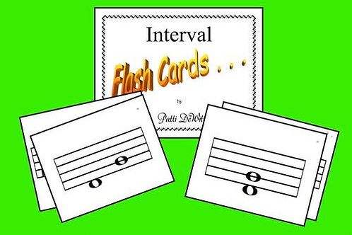 Interval Flashcards Set 1