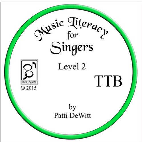 Music Literacy for Singers, Level 2, TTB - downloadable