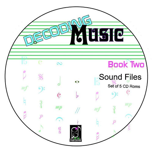 Decoding Music, Book II, Sounded CD Rom Set