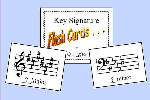 Key Signature Flashcards