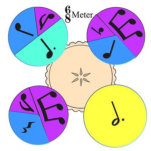 """Rhythm Pie, 6/8 meter"""