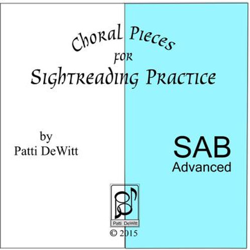 Sightreading Pieces for Advanced SAB Choir - downloadable