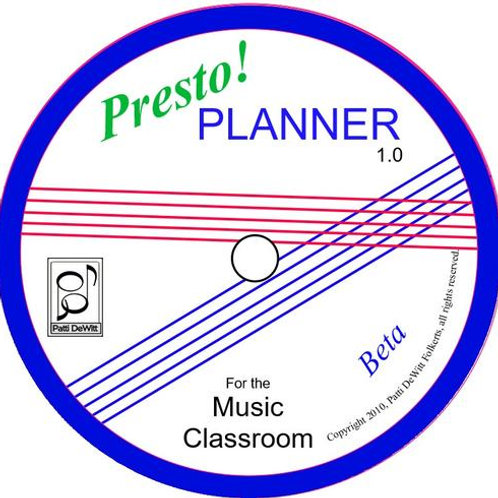 Presto! Planner Software