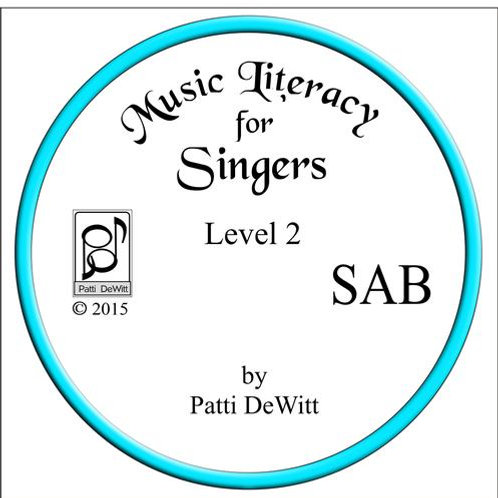 Music Literacy for Singers, Level 2, SAB - downloadable