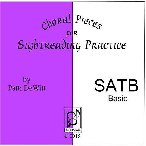 Sightreading Pieces for SATB Choir - Downloadable