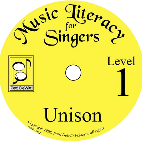 Music Literacy for Singers, Level 1, Unison - Downloadable