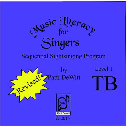 Music Literacy for Singers, Level 1, TB - Downloadable