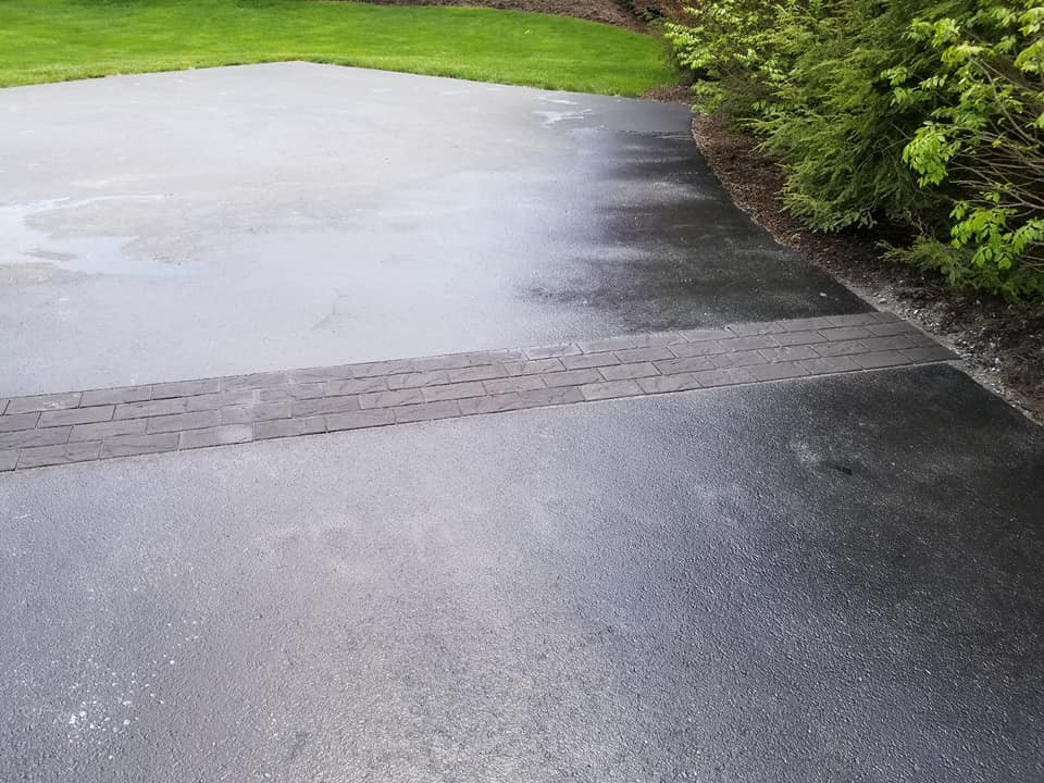 Reoccuring Driveway Crack Fixed