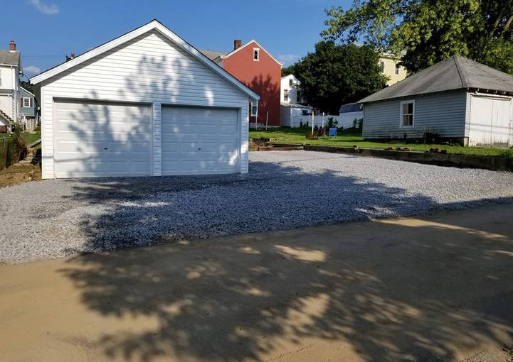 Stone Driveway Addition