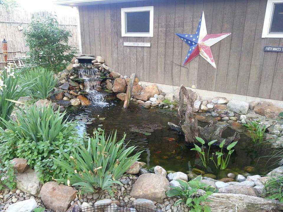 Pondscapes and Patios Fish Pond