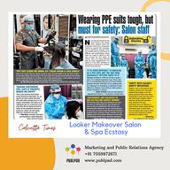 salon  featured in calcutta times