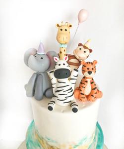 Safari friends cake