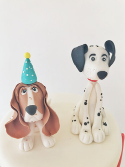 Dogs cake