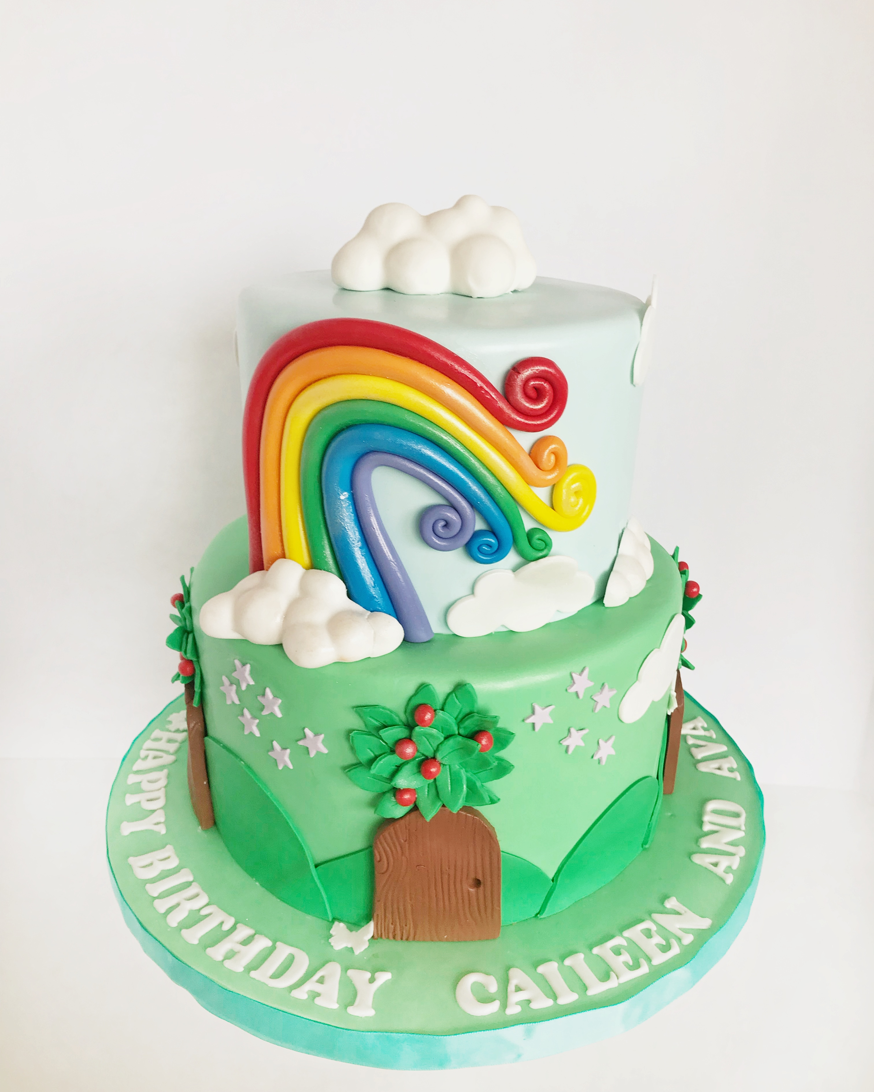 Rianbow cake