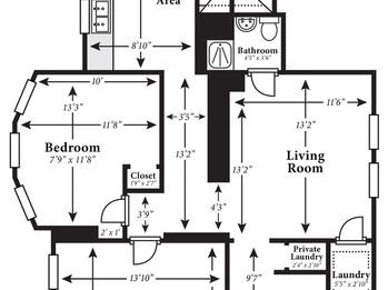 Laser Floor Plan Measurements for Real Estate