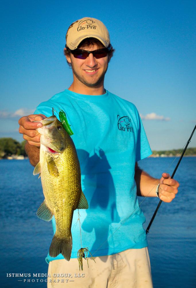 Glo-Pro Fishing Lure Shoot on Lake Pewaukee