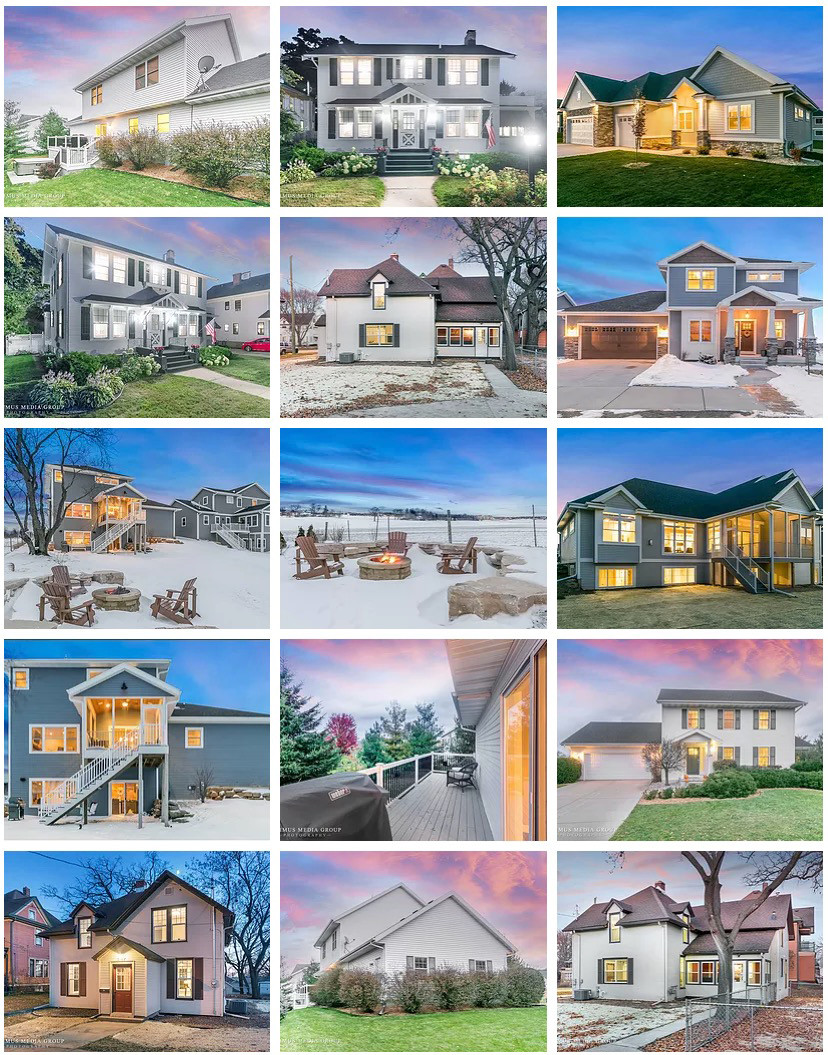 Real Estate Twilight Photography Examples