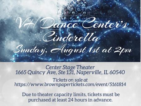 Cinderella Tickets on sale!
