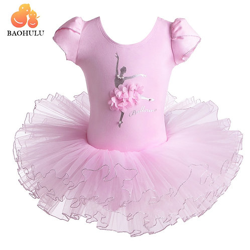 BAOHULU Short Sleeve Ballet Dress
