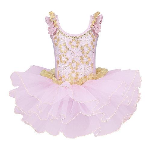 BAOHULU Girls Cotton Ballet Tutu Dress