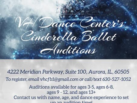 Cinderella Auditions!