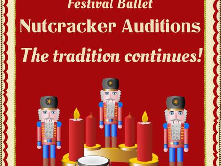 Nutcracker Auditions!