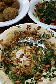 Israel Hummus und Falafel