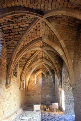 Caesarea: mittelalterliches Torgebäude König Ludwig IX.