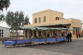 Israel Jaffo alte Bahnstation