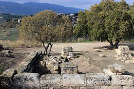 Israel Bet Schearim römische Basilika