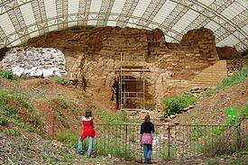 Israel Tel Dan bronzezeitliches Tor