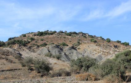 Kerem Maharal, das Innere des Vulkanschlotes