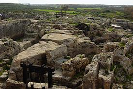 Israel Caesarea Taninim antike Wasserversorgungsanlagen