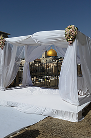 Tour in der Jerusalemer Altstadt: Blick auf den Felsendom